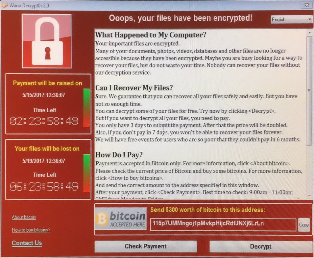 Microsoft release statement on massive worldwide WannaCrypt ransomware attack 1