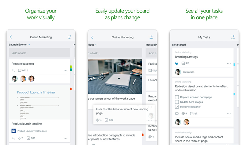 Microsoft Planner lands on phones, starting off with the iPhone