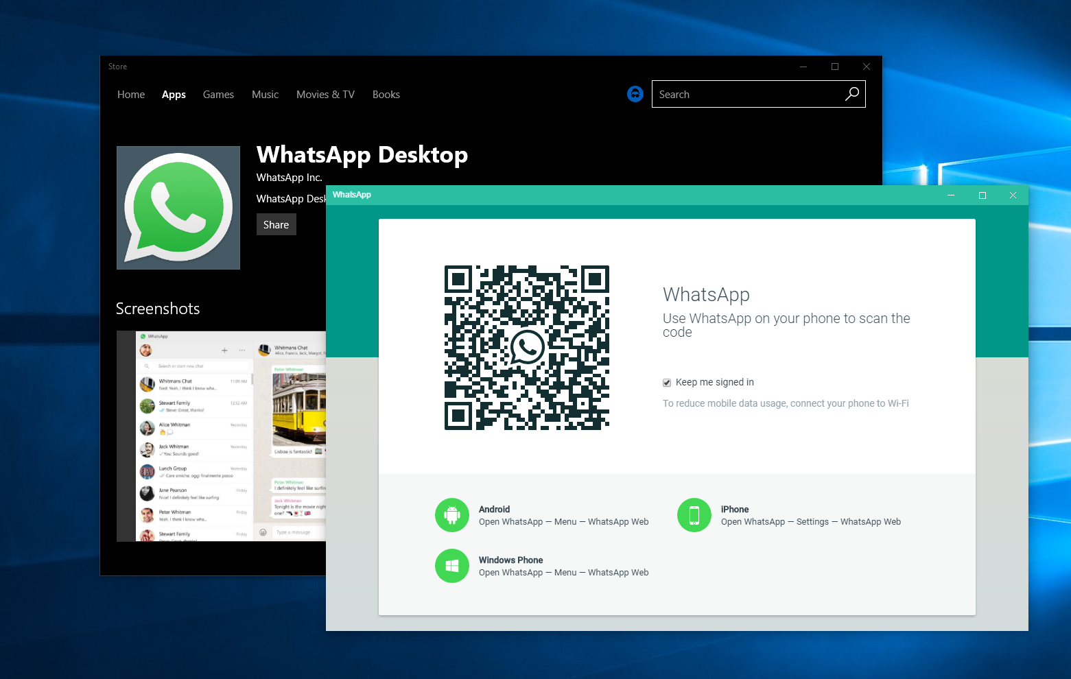 Image result for whatsapp web