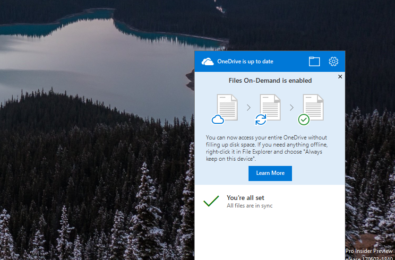 How to get OneDrive Files On-Demand in the Windows 10 Fall Creators Update right now 5