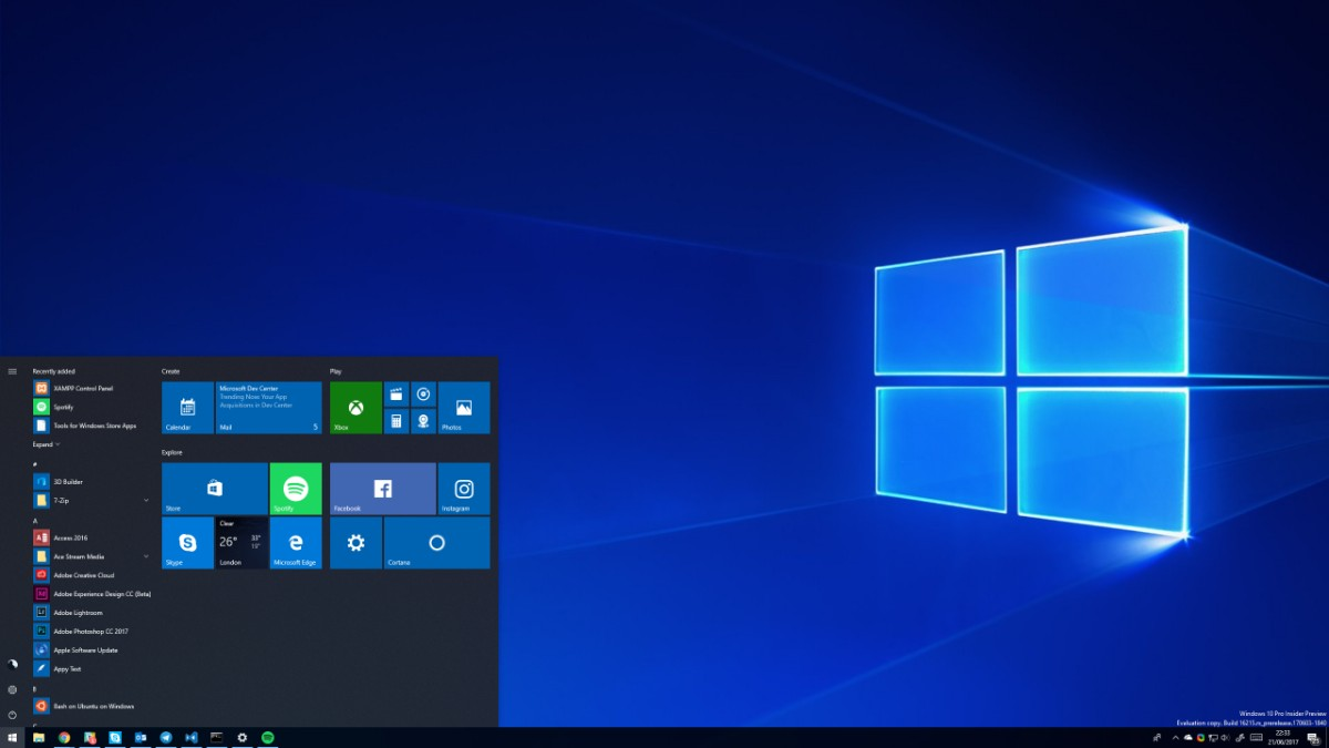 Windows 10 39 s latest preview includes major improvements to for Latest microsoft windows