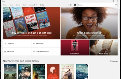 Deal: Buy a book from Windows Store and get $5 toward your next book purchase 6