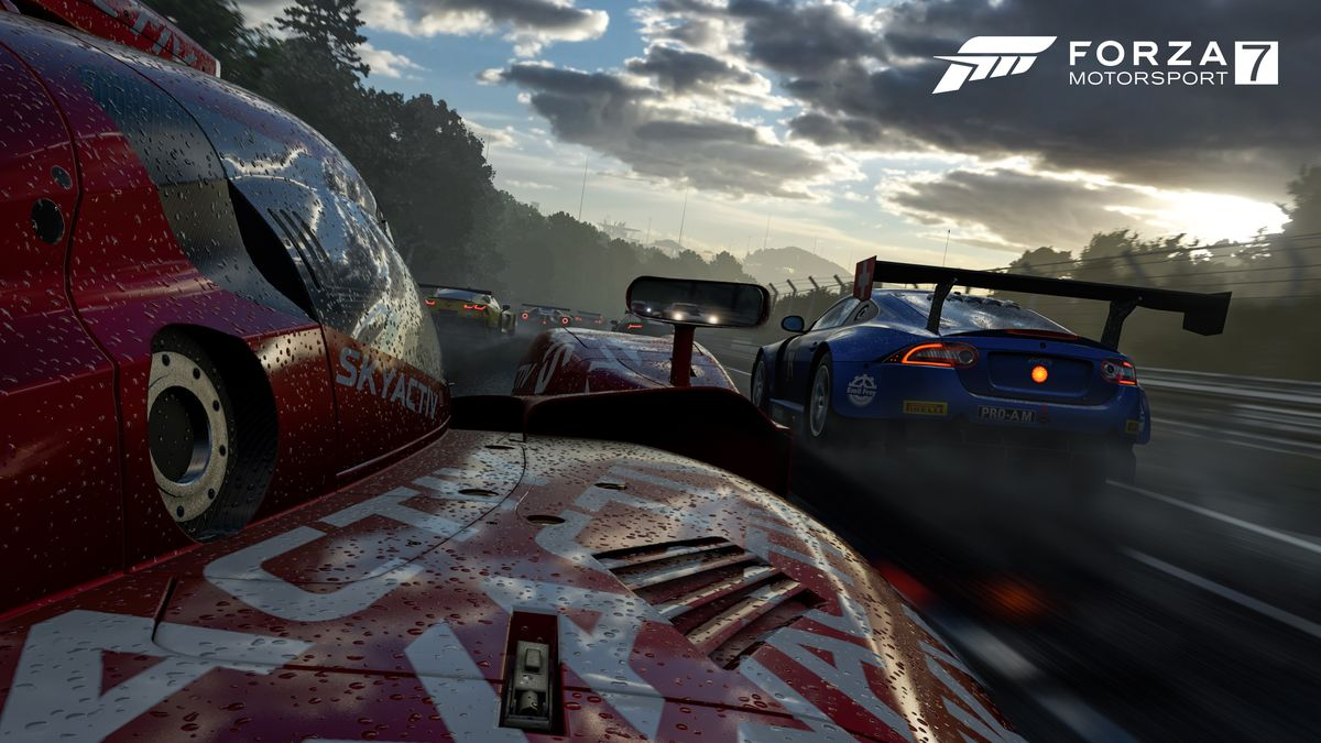 Forza Motorsport 7 unveiled, runs at 4K 60 FPS on Xbox One X 1