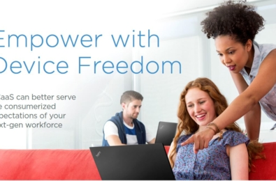 Lenovo announces PC as a Service, a new offering combining hardware and services into a single solution 1