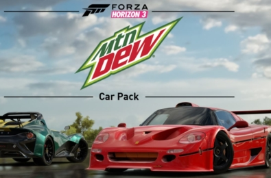 Mountain Dew Car Pack for Forza Horizon 3 is releasing tomorrow 20