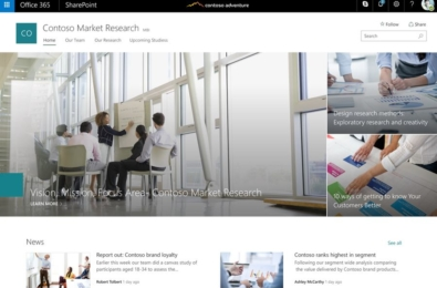 Microsoft announces support for communication sites on SharePoint mobile apps 15