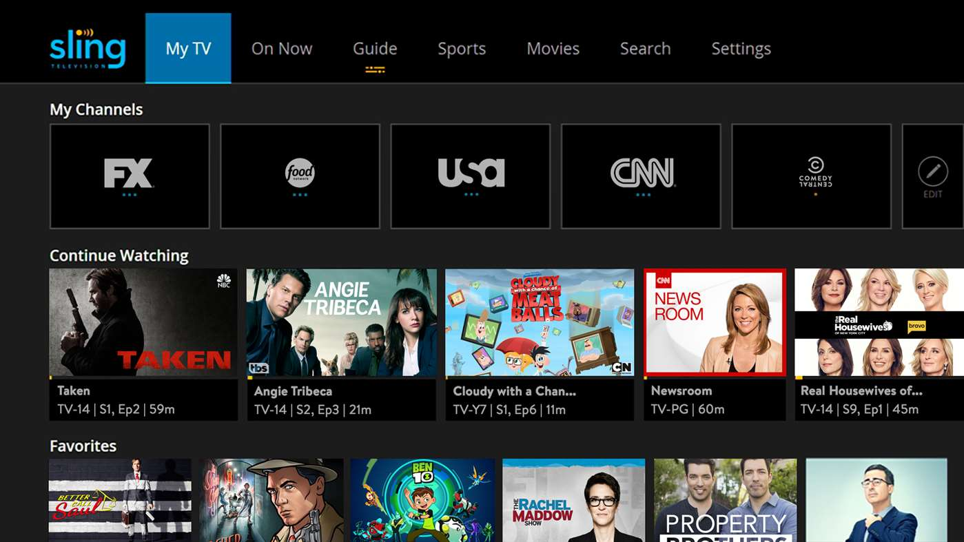 Sling TV app updated with Cloud DVR for Xbox One and Windows 10 users 1