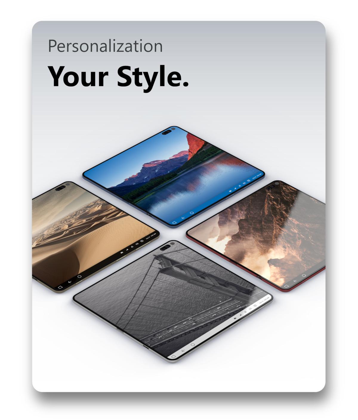 u0026quot surface note u0026quot  concept brings microsoft u0026 39 s foldable phone