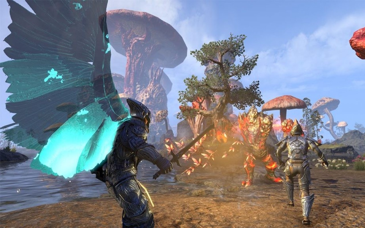 The Elder Scrolls Online: Morrowind is out now on Xbox One