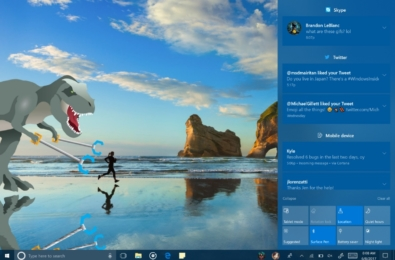 Windows 10 Fall Creators Update's latest Insider release packs a new Action Center, Emoji Picker, new keyboard, and a lot more 1