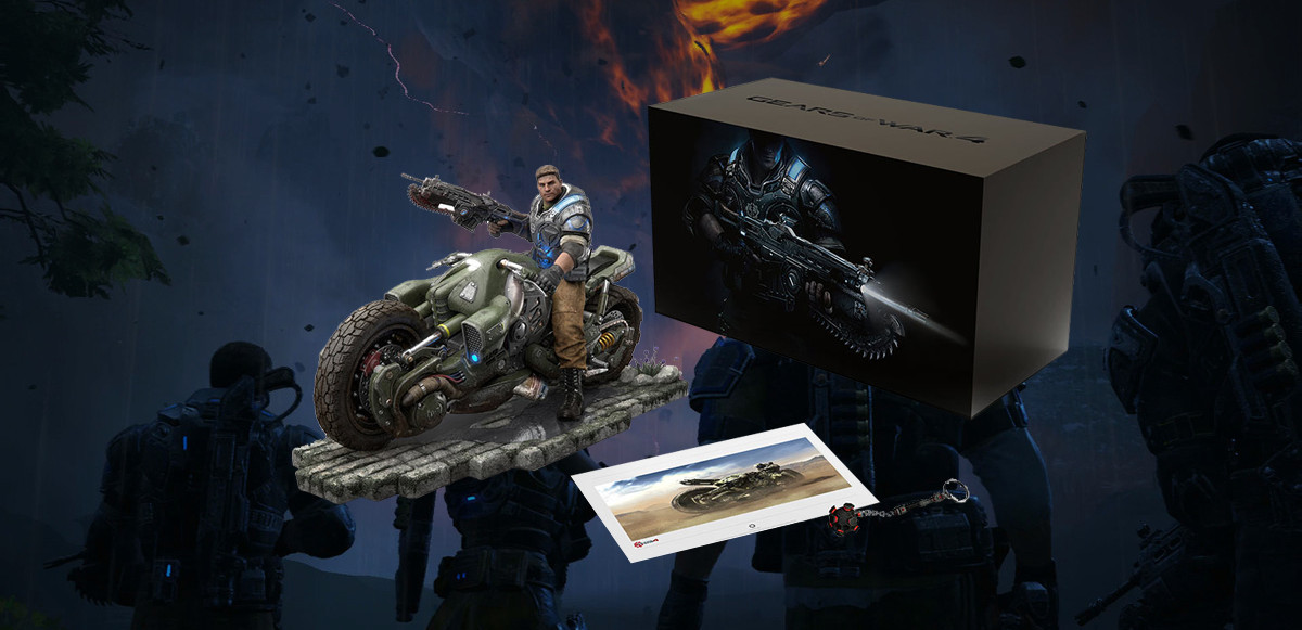 Gears Of War Collectors Edition on Power Off Windows 10