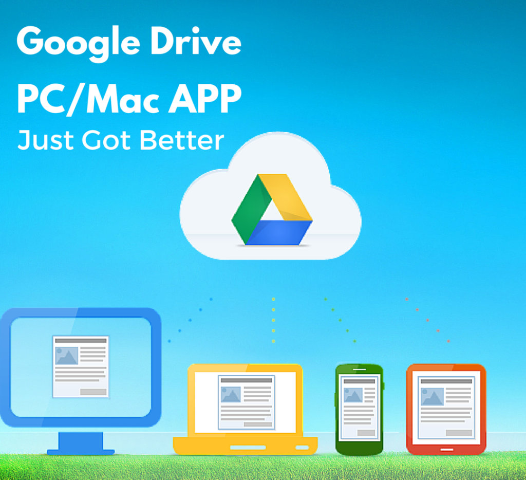Backup And Sync By Google Makes Drive For PC/Mac Much Better