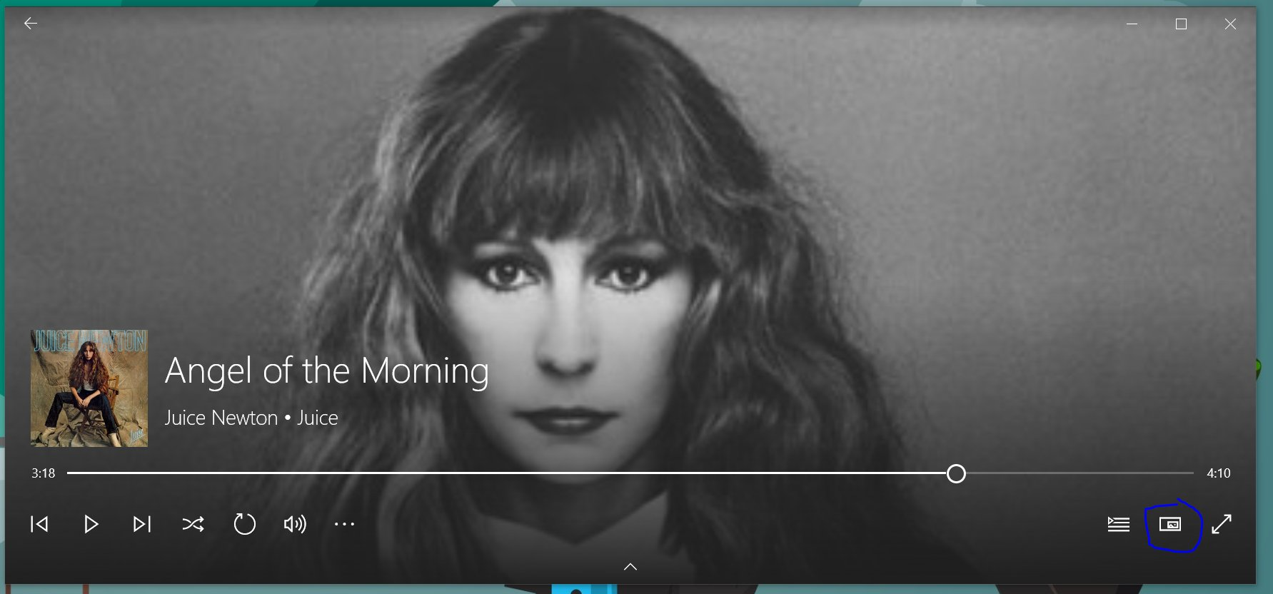 Groove Music is getting a new mini-player in Windows 10 3