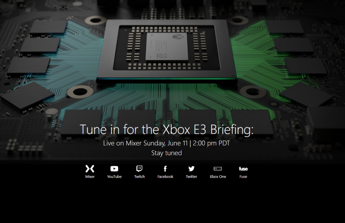 Watch the Xbox E3 keynote and Project Scorpio launch live right here! 1