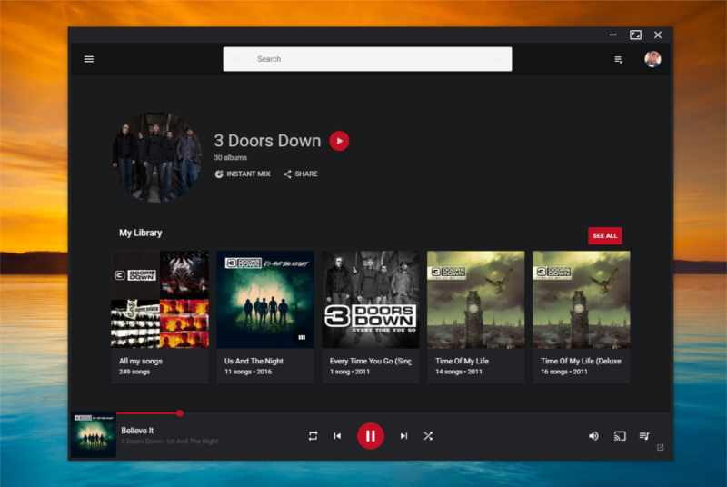 music streaming apps for pc