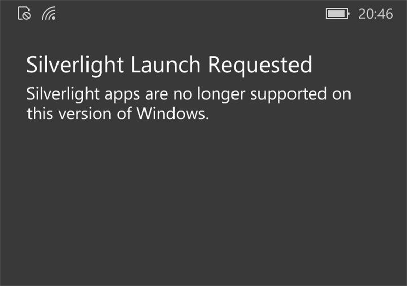 Microsoft set to drop support for classic Windows Phone apps 1