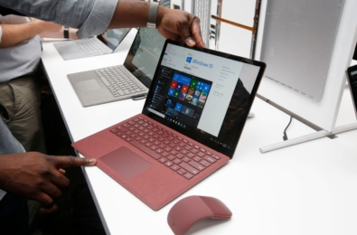 Microsoft Surface revenue declines due to product transitions, phone revenue negligible 19