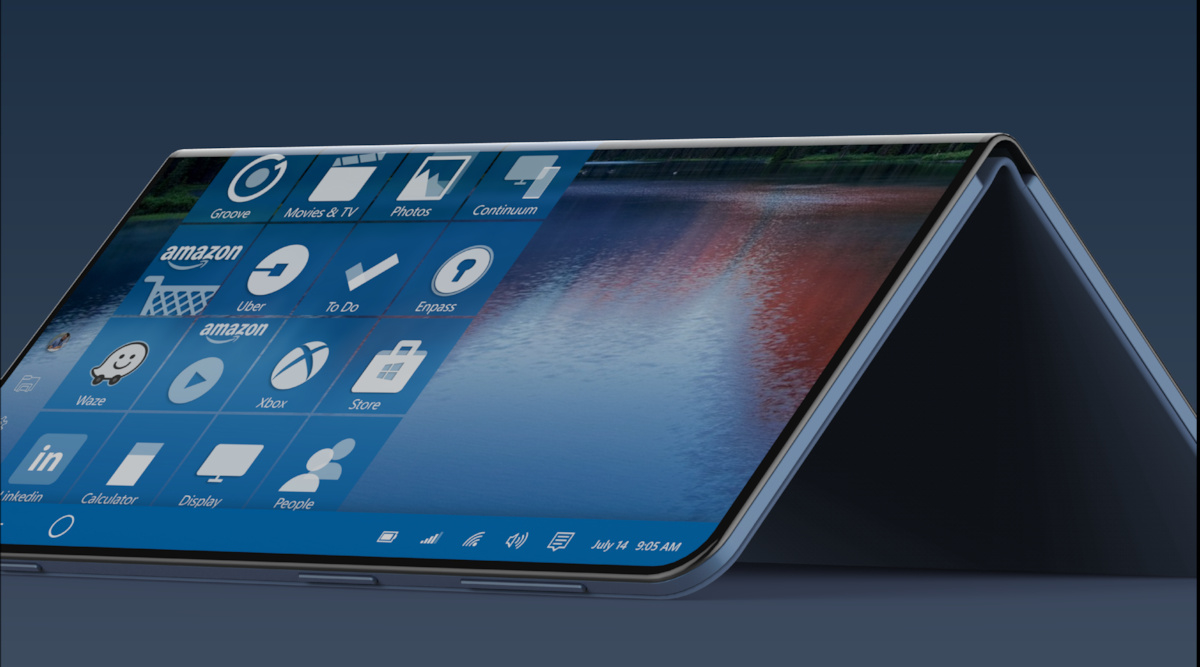 """Surface Note"" concept brings Microsoft's foldable phone ..."