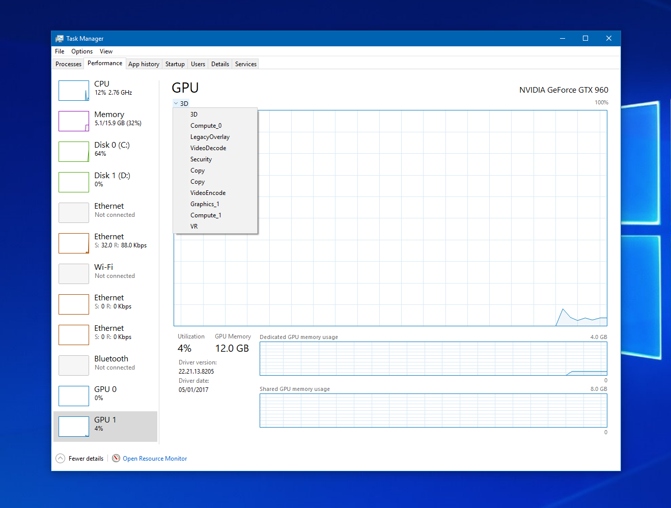 You can finally track your GPU's performance in the Windows Task Manager 1