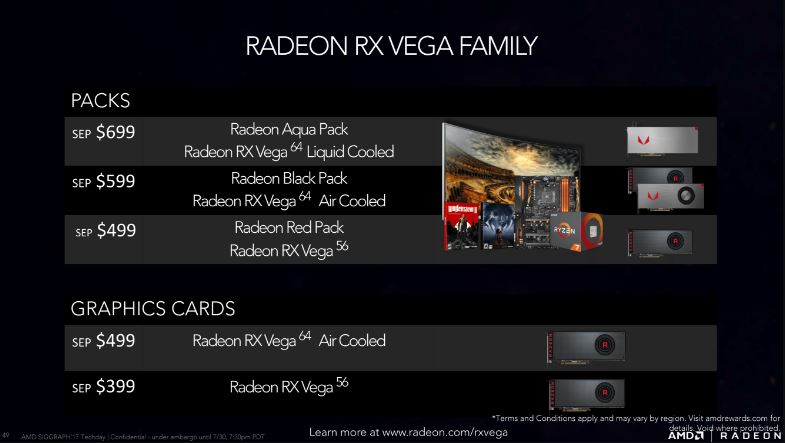 AMD finally unveils Radeon RX Vega family of GPUs - MSPoweruser