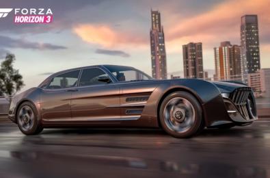 Final Fantasy XV's Regalia car is coming to Forza Horizon 3 next month 16