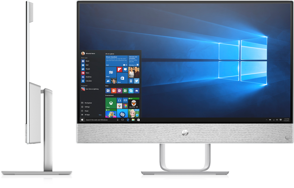 hp announces redesigned pavilion all in one aio to take on surface studio mspoweruser. Black Bedroom Furniture Sets. Home Design Ideas
