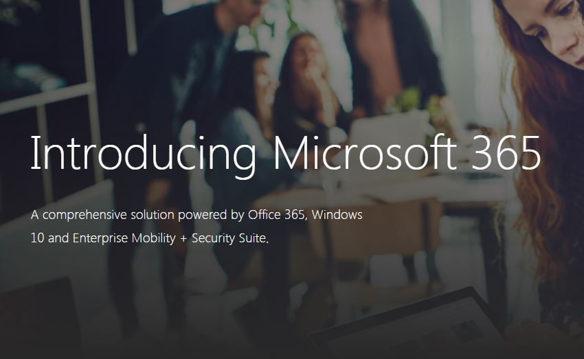 Meet Microsoft 365, a new bundle offering for the enterprise