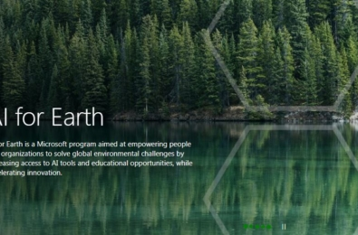 Microsoft launches AI for Earth program to solve global environmental challenges 9