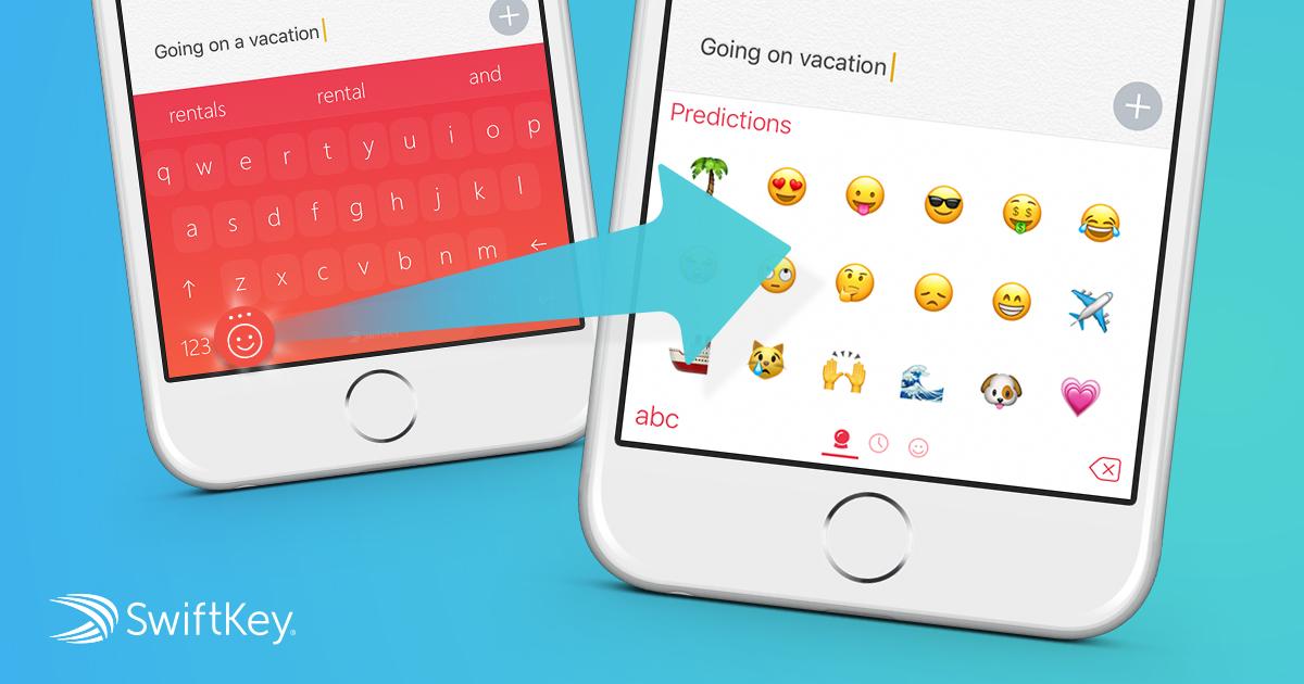 SwiftKey for iPhone updated with emoji prediction, new