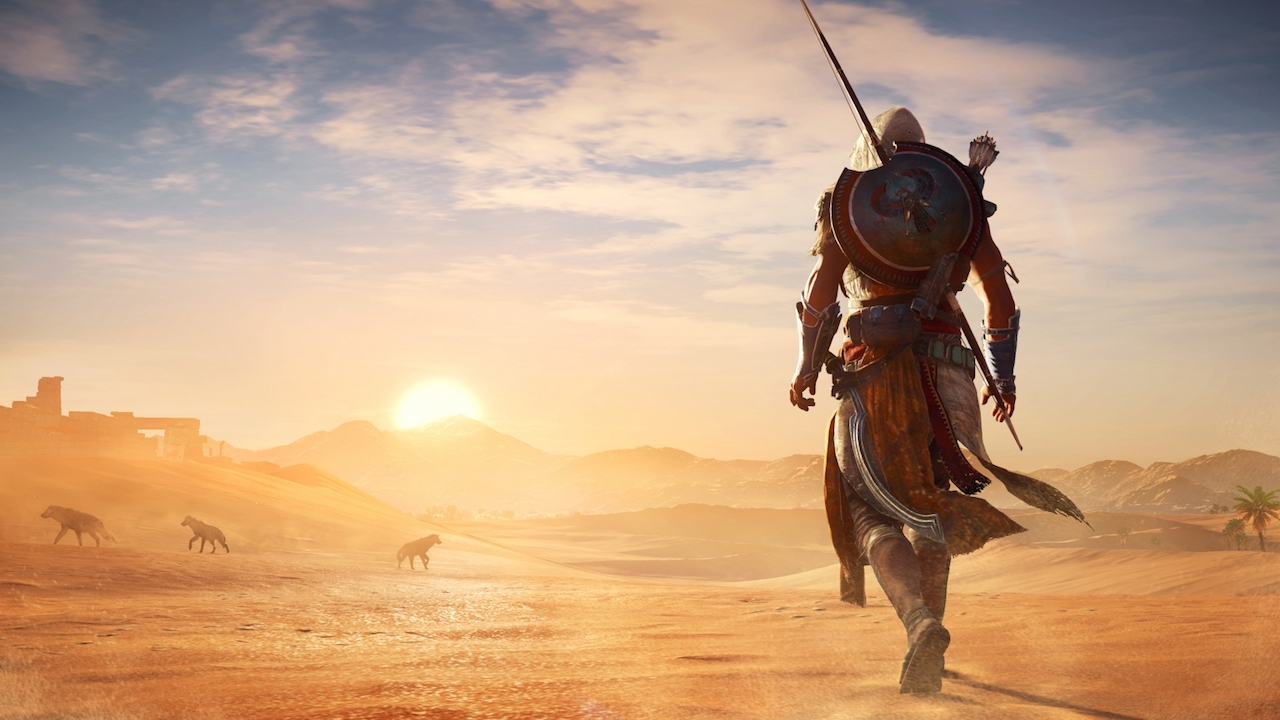 Assassin S Creed Origins Gets Breathtaking New Xbox One X Gameplay
