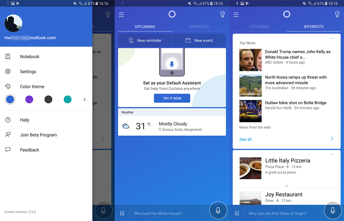 Microsoft updates Cortana for Android with new look and new features