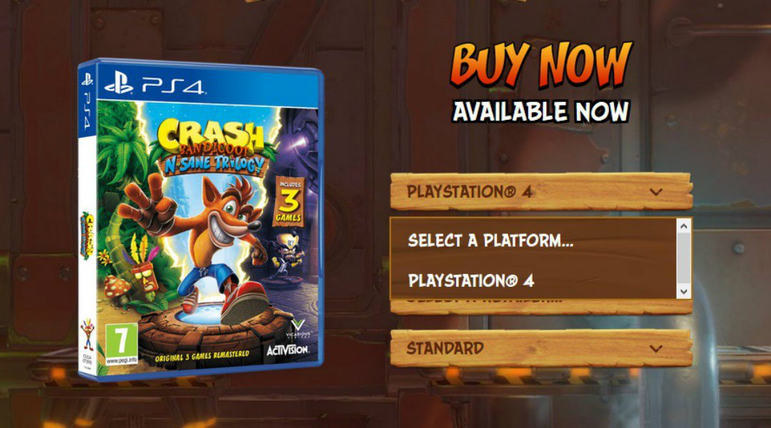 Further evidence suggests Crash Bandicoot N  Sane Trilogy may be