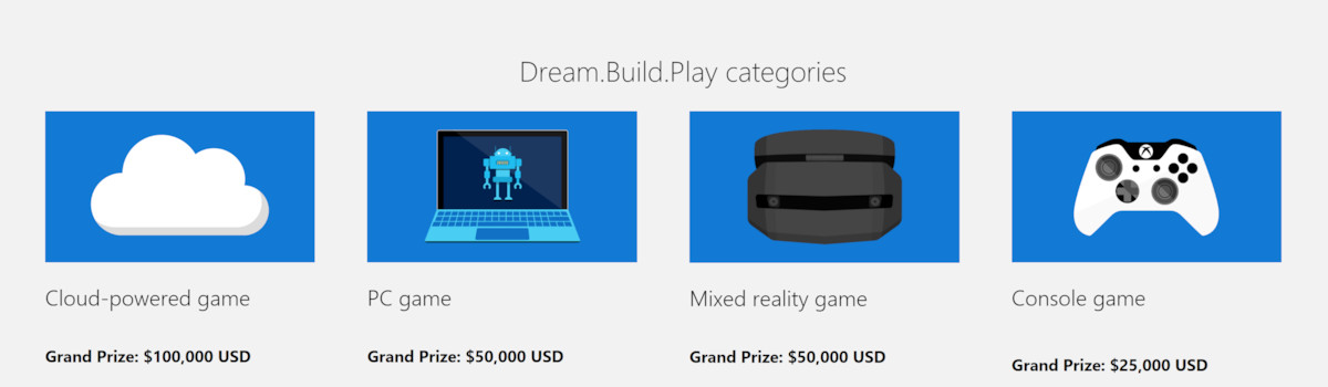 Microsoft courting UWP game developers with $200,000 contest