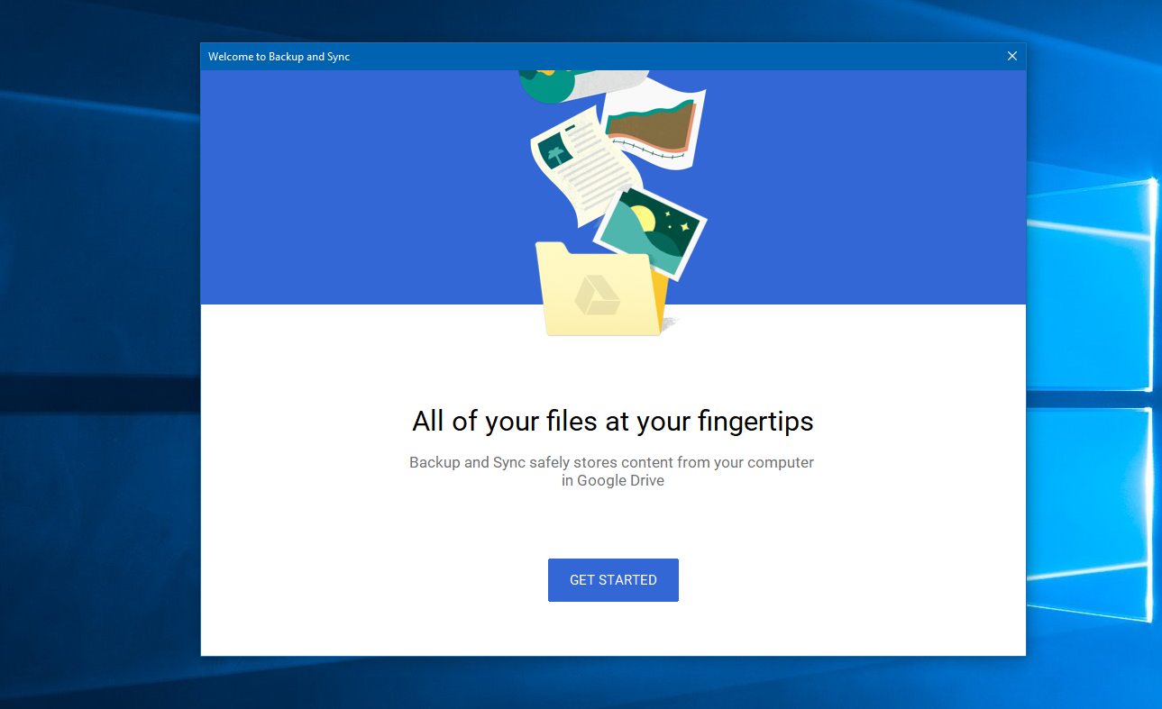 Google invades Microsoft's turf with their new Backup and Sync app for Windows 1