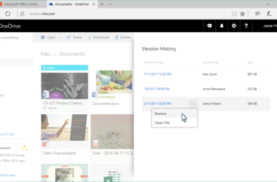 OneDrive now keeps track of all of your files 19