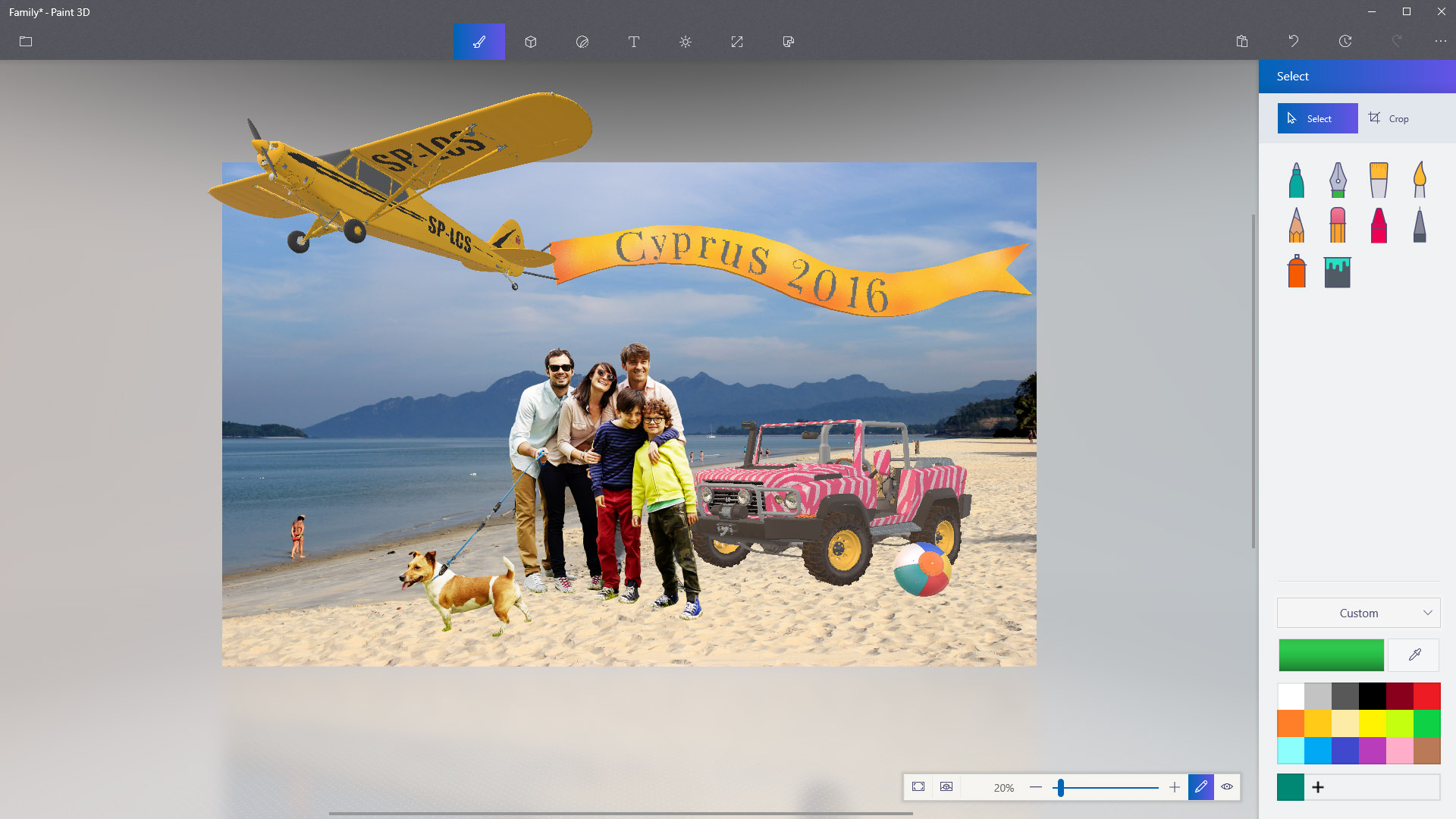 Microsoft brings improvements to magic select in windows for How to paint 3d