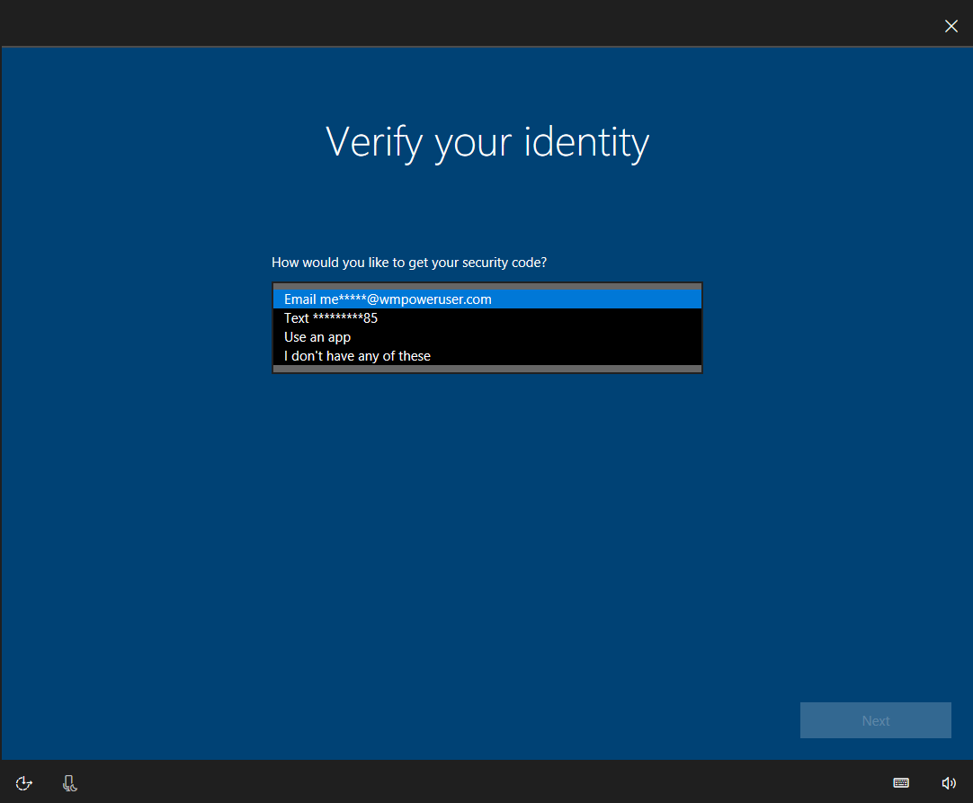 windows 10 will soon let you recover your microsoft account password from the lockscreen