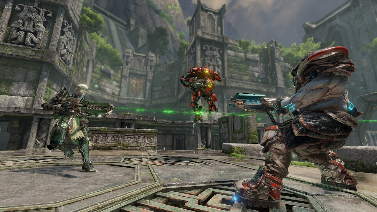Doom guy is in Quake Champions