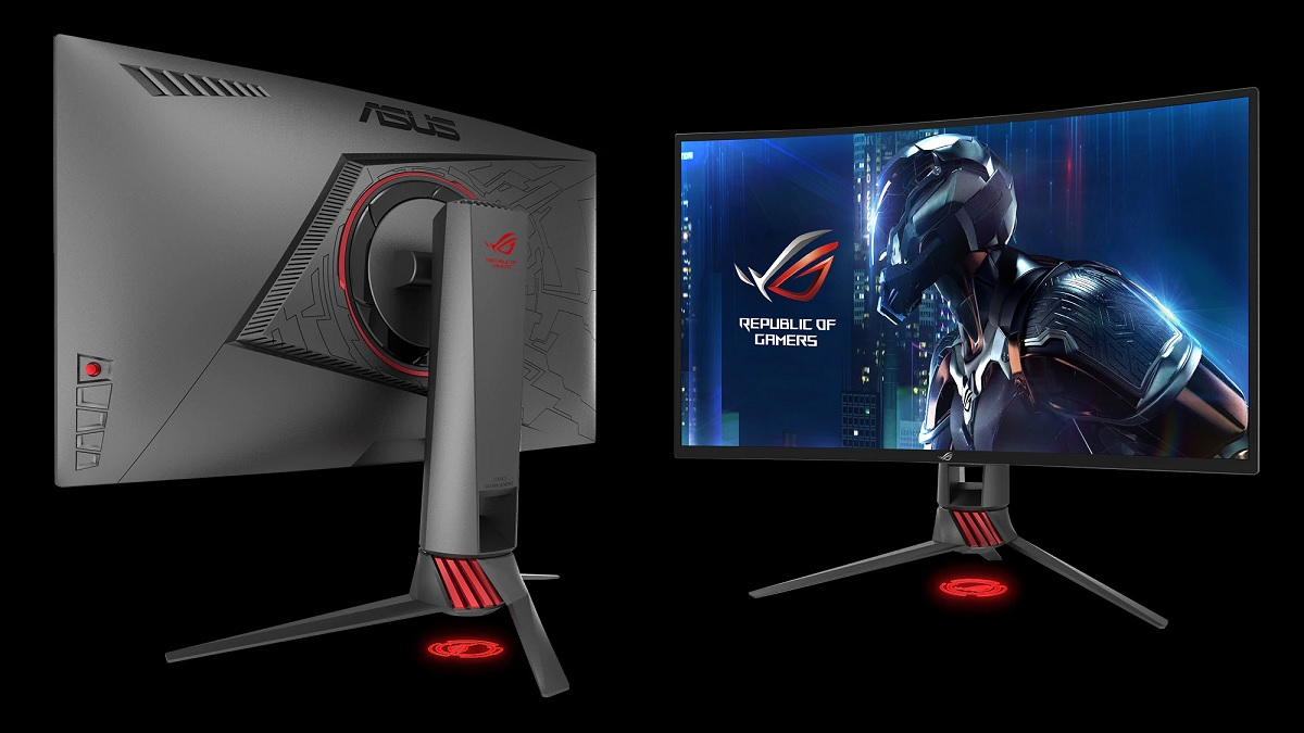 """ASUS ROG Strix XG27VQ 27"""" Curved 144Hz gaming monitor now ..."""