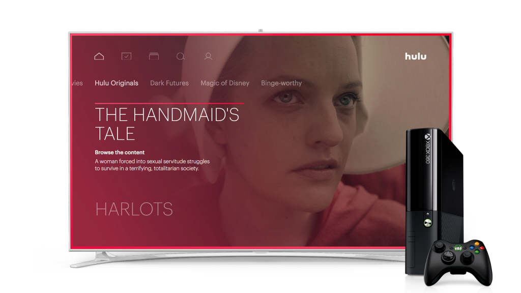 Hulu brings its new interface and live TV to Xbox 360