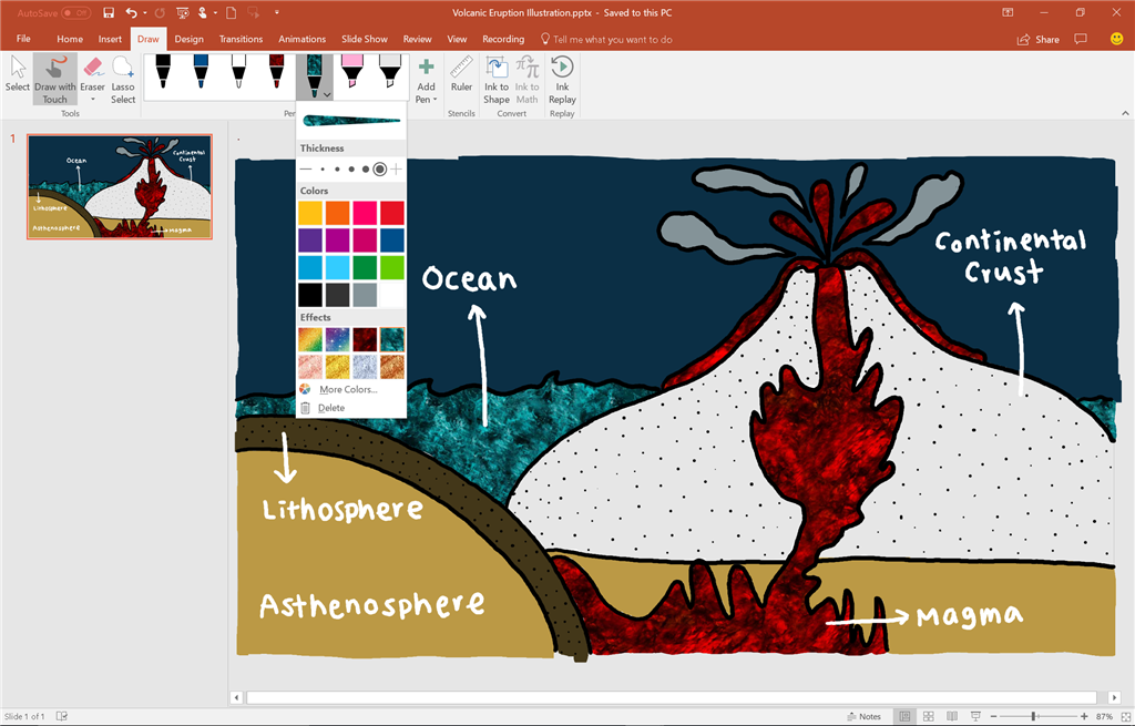Insiders: Ink Effects now available for Word, Excel, and PowerPoint