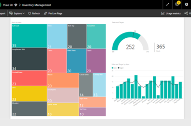 New Visio custom visual will allow you to visualize data using Visio diagrams in Power BI 5