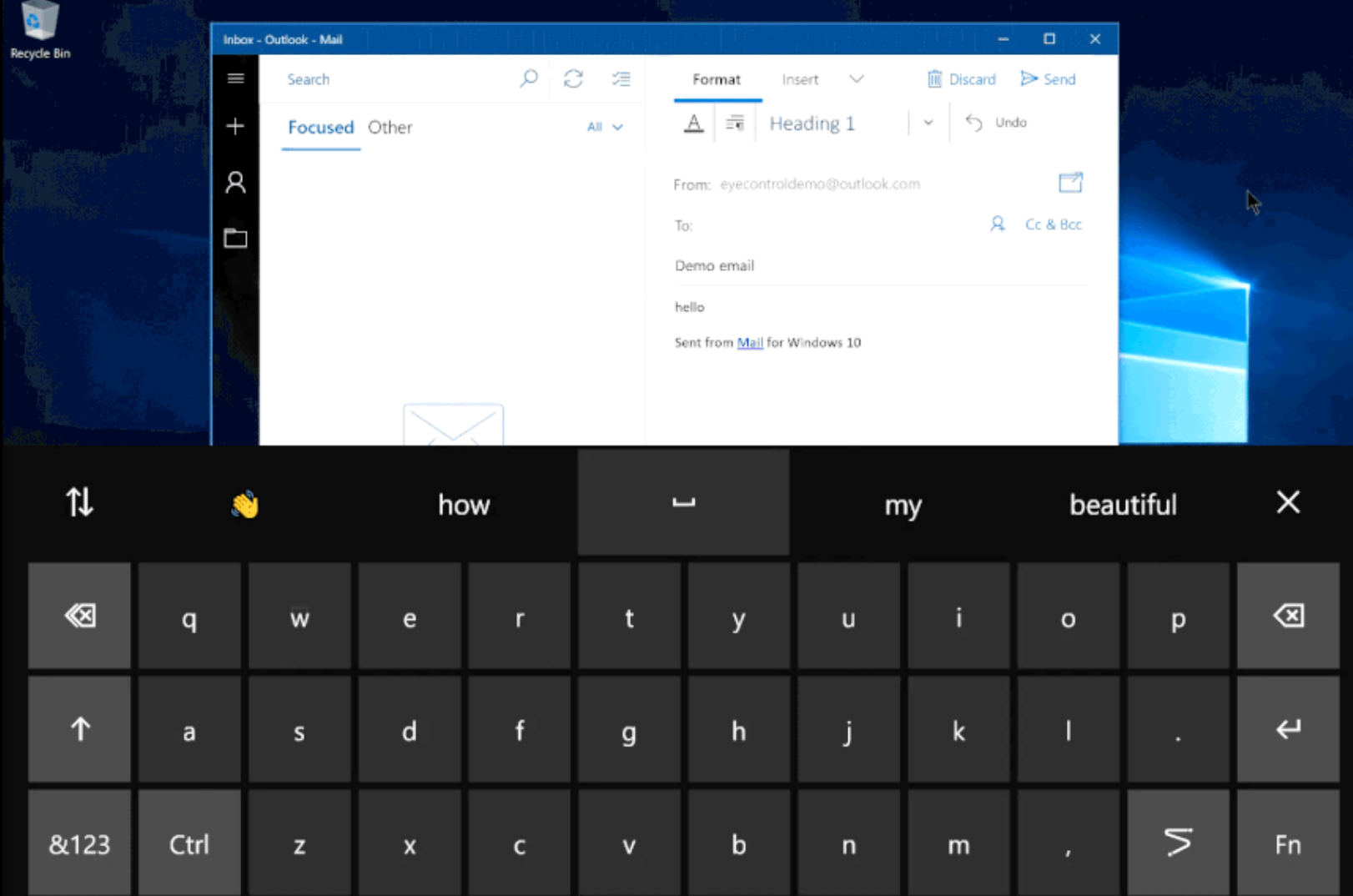 Microsoft details Windows 10's new built-in Eye Control feature 1