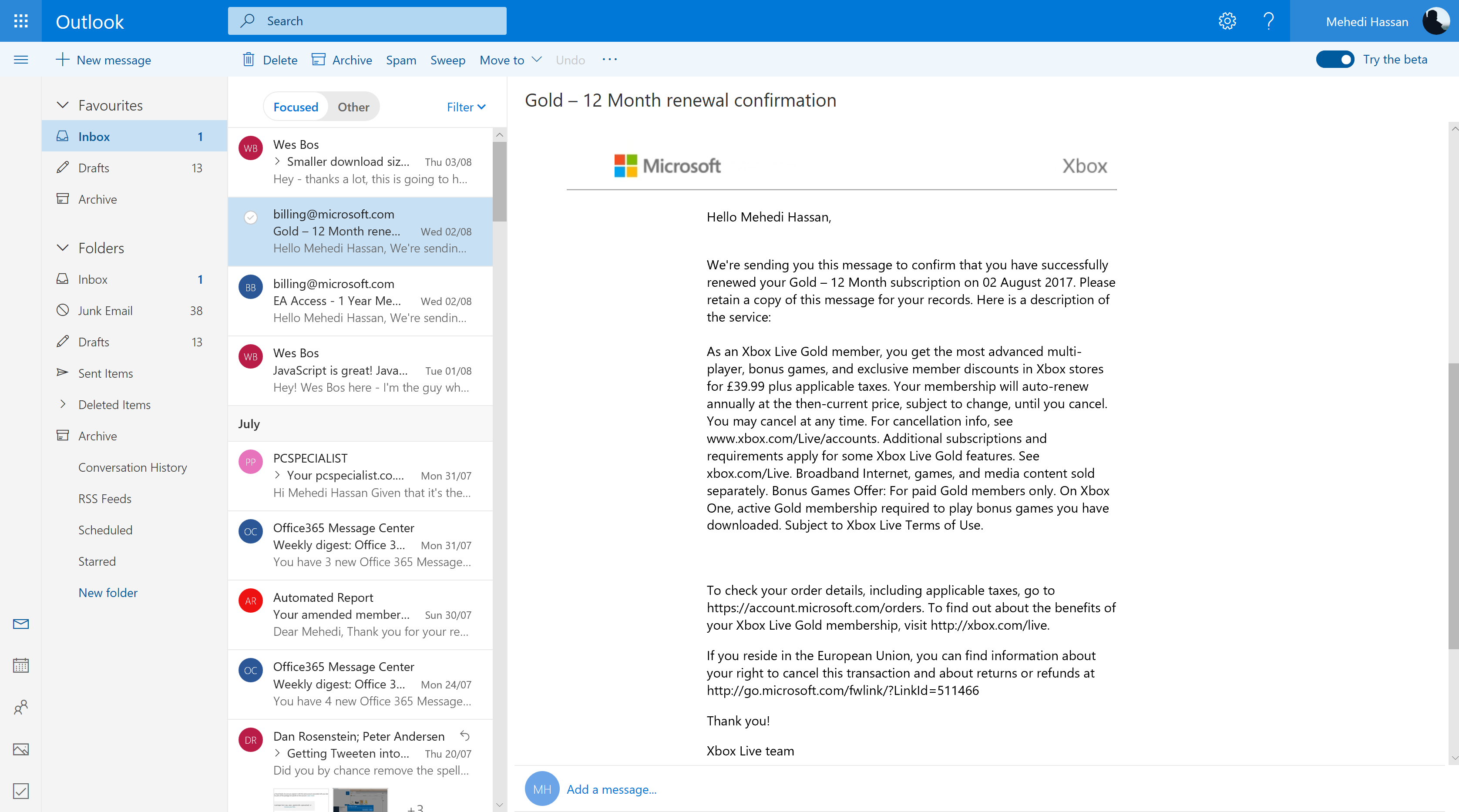 Hands-on with the new Outlook.com 1