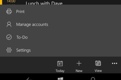 Outlook Calendar gets Microsoft To-Do integration on Windows 10 Mobile 5