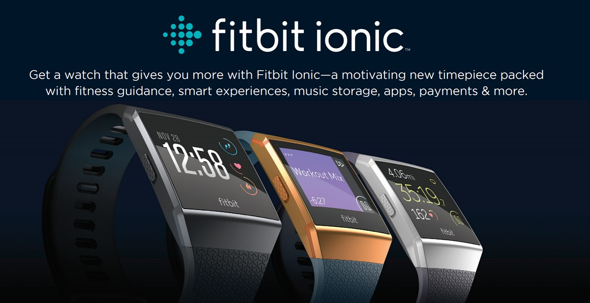 Fitbit's Ionic smartwatch now on sale 1