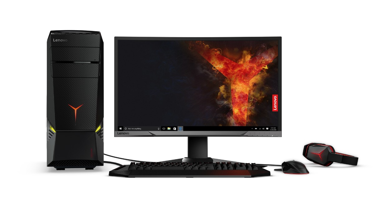 Lenovo announces a trio of Legion gaming desktop towers