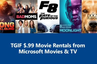 Deal Alert: Rent 2017 movies F8: Fate of the Furious, Kong: Skull Island, A Dog's Purpose and more for only $0.99 9