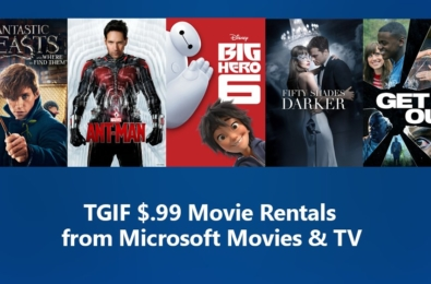 Deal Alert: Friday Microsoft Movie Sale offers rental for only $0.99 13