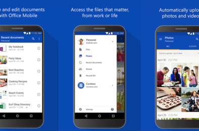 OneDrive for Android receives an update, brings improvement in the layout of file list and tile views and more 3